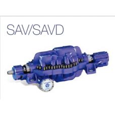 SA-series axial split volute type, multi-stage pump/double suction ( API610 Type BB3)